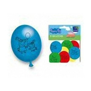 Peppa Pig Party Latex Balloon (10 Pack) - Peppa Pig Party Supplies by Party Bags 2 Go