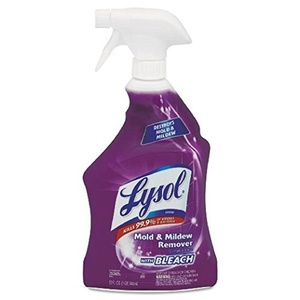 Lysol Mold & Mildew Stain Remover With Bleach Fresh Scent Trigger Spray Bottle 32 Oz, 2 pack by Lysol