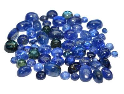 Blue Sapphire natural & cabochon cut gemstones lot 26.11 carat