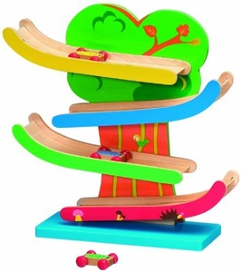 Wooden Toys Wooden Click Clack Racer by Wooden Toys