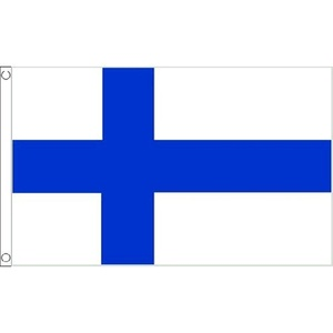 Finland Large Flag 8Ft X 5Ft Finish National Country Banner With 2 Eyelets by Finland