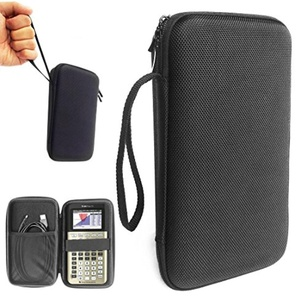 FitSand (TM) Travel Carrying EVA Protective Portable Zipper Storage Hard Case Pouch Box for Texas Instruments TI84PLSCEGOLD, Texas Instruments, Casio, HP, SainSmart Graphing Calculator