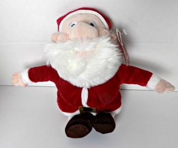 DISNEY SANTA CLAUS PLUSH From Mickeys Twice Upon a Christmas