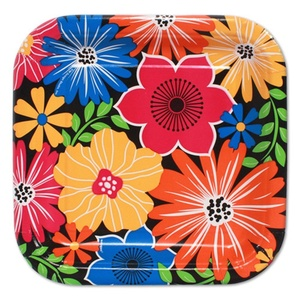 Floral 'Bold Blooms' Small Paper Plates (10ct)
