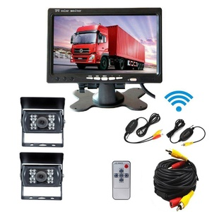 Camecho Wireless Backup System RC 12V-24V Truck + 7