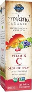 Garden of Life Mykind Organics Amla Vitamin C Spray, Cherry/Tangerine, 2 Fluid Ounce by Garden of Life