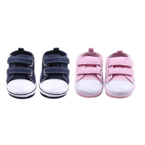 Anti-slip Baby Prewalker Shoes Rubber Sole Stylish Toddler Shoes Newborn First Walking Shoes