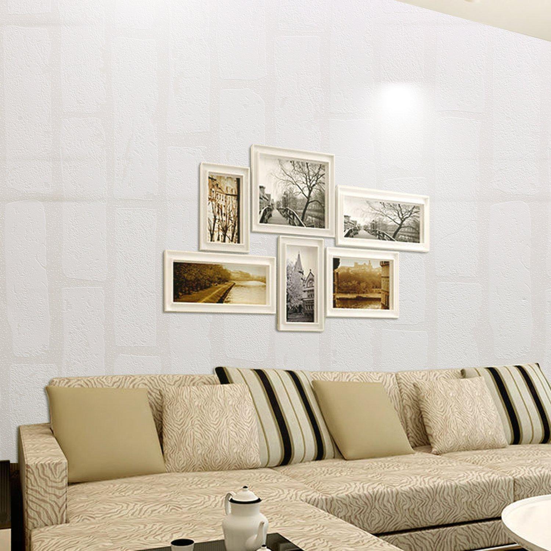 Online store homdox wallpaper modern non woven 3d brick for 80s wallpaper home