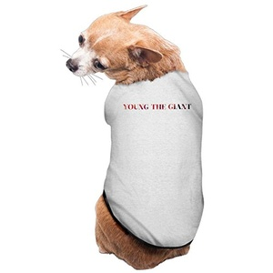 Logon 8 Puppies And Dog Tshirt YOUNG THE GIANT1 Gray Size M