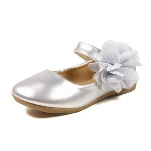 Nova Utopia Toddler Little Girls Dress Ballet Mary Jane Bow Flat Shoes,NF Utopia Girl NFGF061 Silver 13