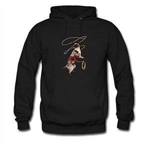 Wonder Cat For women Printed Sweatshirt Pullover Hoody