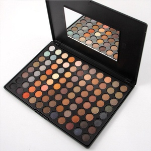 Eyeshadow Palette - 88 Colors Cosmetics Smoky Matt Make up Kit - 3D Ultimate Color Combination Makeup Eye Shadow Powder Set