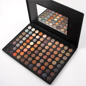 Eyeshadow Palette - 88 Colors Cosmetics Smoky Matt Make up Kit - 3D Ultimate Color Combination Makeup Eye Shadow Powder Set