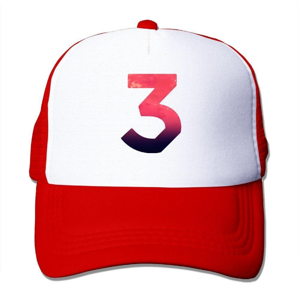 Coloring book chance the rapper hat - Gsyful Swag Chance The Rapper Number Coloring Book Baseball Cap Hat Snapback Red