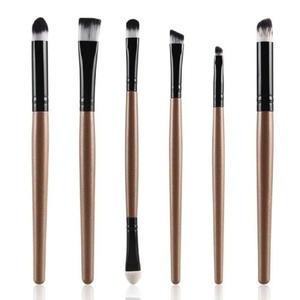 Makeup Brush,Neartime 6PCS Cosmetic Beauty Lip Eyeshadow Brush Set