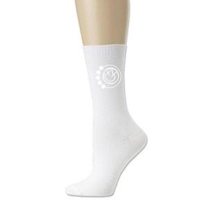 Punk Rock Band Logo sport sock White Perfect fits shoe size 6-10