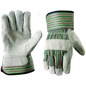Boston Industrial Heavy Duty Leather Palm Work Gloves, Large/Extra Large, 12-Pack