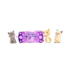 Kitty in My Pocket / Purple Kitty charm Bracelet set by Kitty in My Pocket
