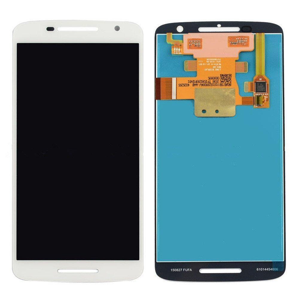 White Motorola Moto X Play XT1561 XT1562 XT1563 LCD Display Digitizer Assembly