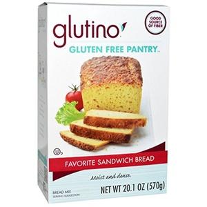 Gluten-Free Pantry, Glutino, Favorite Sandwich Bread Mix, 20.1 oz (570 g) Gluten-Free Pantry, Glutino, Favorite Sandwich Bread Mix, 20.1 oz (570 g) - 2pcs
