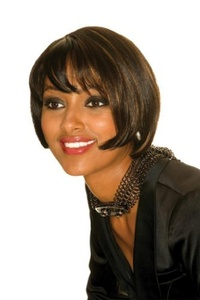 Sleek Top quality synthetic Wig -Amma Colour 1b- Natural black by Sleek MakeUp