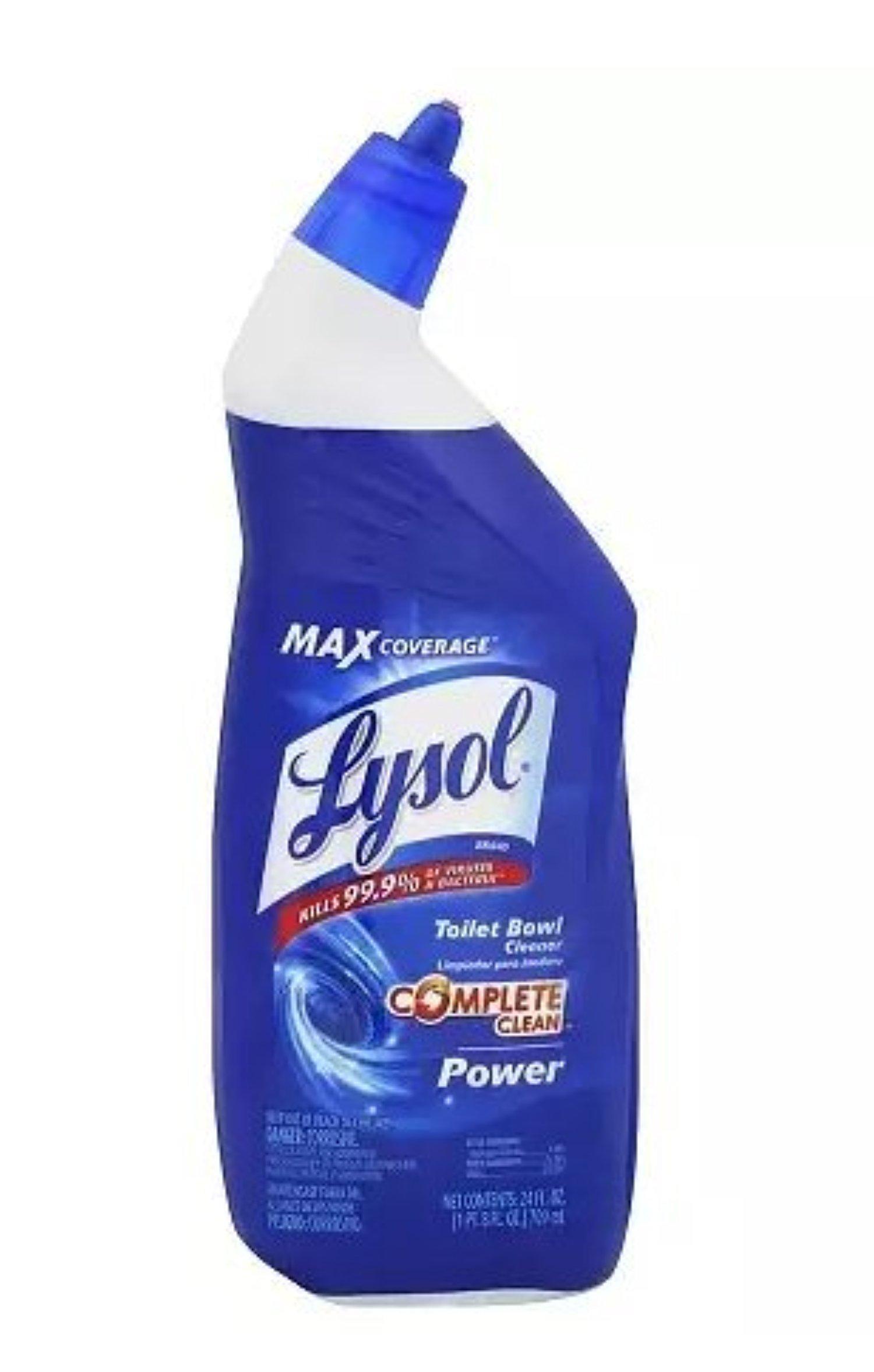 Lysol Toilet Bowl Cleaner, Original 24.0oz. Pack of 6