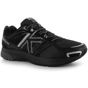 Mens Karrimor Tempo 3 Control Running Shoes Black Silver (UK 9.5 / US 10)