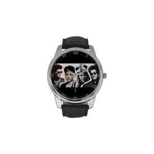 Bruno Mars Logo DBLN510 Men Wrist Watches Leather Strap Large Dial Watch