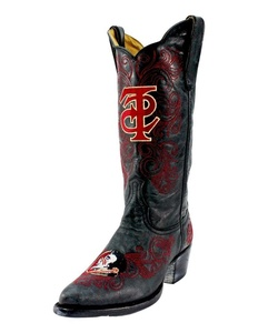 Gameday Boots Womens Western Florida State Leather