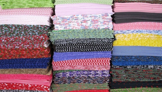 25 FAT QUARTERS MIX 100% COTTON (FLANNEL) ~ Quilt Fabric ~ CRAFTS ~ SEWING ~ ASSORTED COLORS