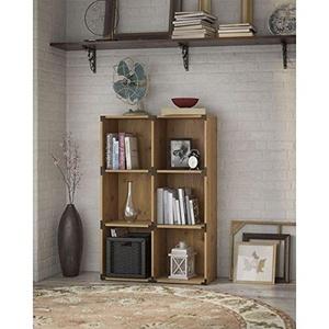Kathy Ireland Office by Bush Furniture Ironworks 6-cube Bookcase
