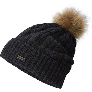 Sorel Addington Lux Pom Pom Beanie - Women's Jet One Size
