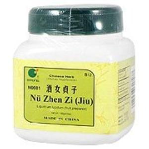 Nu Zhen Zi Jiu - Ligustrum fruit, Jiu prepared, 100 grams,(E-Fong) by E-Fong