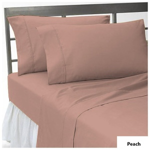 Egyptian Collection of 1-Piece- Fitted- Sheet with 6-10 inches Extra Fit Deep Pocket Both Pattern Solid/Stripe 400 Thread Count 100% Egyptian Cotton Available in 4 Sizes & 31 Colors.
