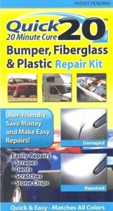 Quick 20 Bumper Fiberglass and Plastic Repair Kit by Quick Products