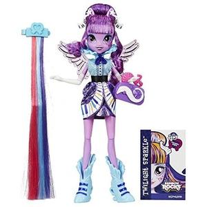 My Little Pony Equestria Girls Rainbow Rocks Twilight Sparkle Rockin Hairstyle Doll by My Little Pony Equestria Girls