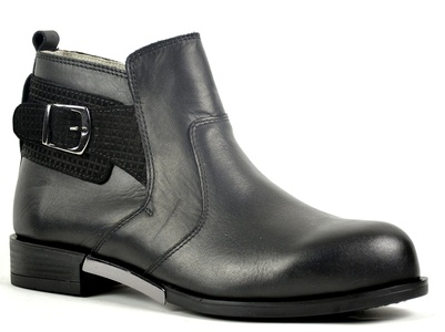 Ogswideshoes Silvia Amato Leather Boots Extra Wide ,C Width, 3e Width (10 3E us)