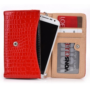 Exxist Classy Women's Wristlet Phone Accessory Wallet Purse Clutch Fits Samsung Galaxy S4   Galaxy S4 Active   Ativ S   Galaxy S III   S II