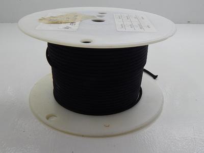 Santa Fe Textiles SF-398-1/8 Black Nylon Sleeving T87669