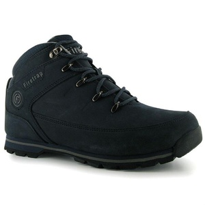Mens Firetrap Rhino Boots Shoes Navy Grey (UK 8.5 / US 9)