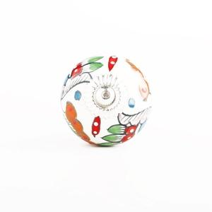 Multicolor Floral Knobs