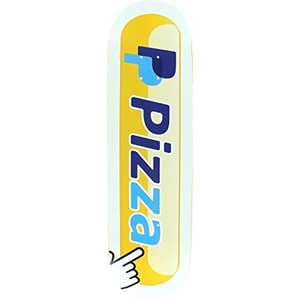 Pizza Pizzapal Skateboard Deck -8.5 DECK ONLY