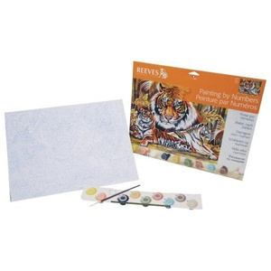 Reeves - Paint By Numbers - The Tiger by Reeves