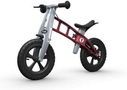 Firstbike Cross with Brake (Red) by FirstBIKE Cross Red with brake