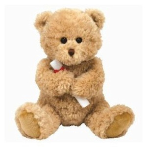 TY Classic Grads Graduation Bear by Ty Classic Grads Graduation Bear