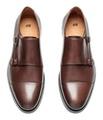 Hm 100% Leather Monkstrap Shoes