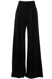 Milly Wide Leg Trouser in Black (4)