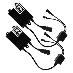 TAITIAN 2PCS 12V AC 150W Replacement HID Xenon Digital Ballast for HID Conversion H1 H3 H4 H7 H11 9005