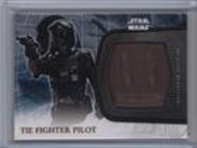 TIE Fighter Pilot (Trading Card) 2016 Topps Star Wars: The Force Awakens Series 2 Medallions Bronze #11