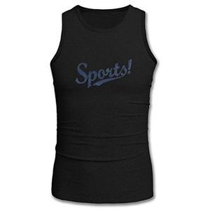Sports for Men Printed Tanks Tops Sleeveless T-shirt